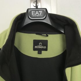 Nomad lime groen fleece jack